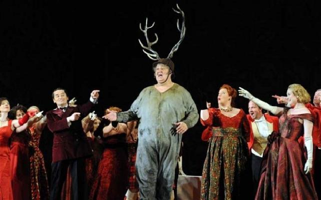 """""""Falstaff"""" Operası İstanbul'da sahnelenecek"""