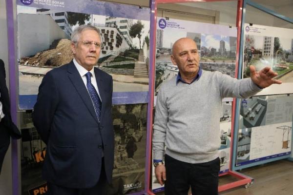 Fenerbahçe Spor Kulübü Başkanı Aziz Yıldırım'dan Başkan Altınok Öz'e Ziyaret