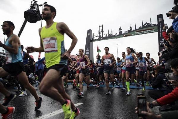 İstanbul Yarı Maratonu koşuldu