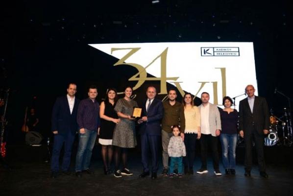 Kadıköy Belediyesi'nin 34'üncü kuruluş yıl dönümü kutlandı