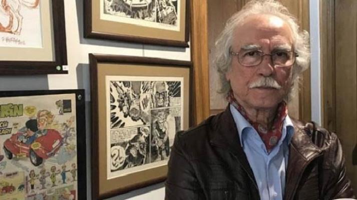 """Kadıköy'de """"80'li Yıllardan Çizgiler"""" karikatür sergisi açıldı"""