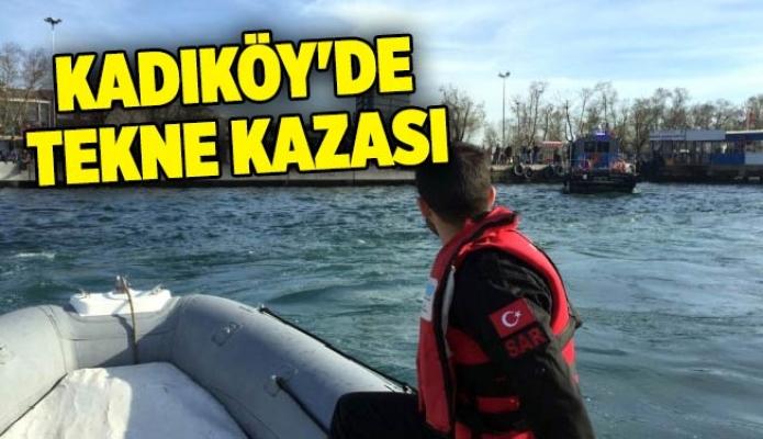 Kadıköy'de tekne kazası: 5 yaralı