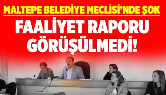 MALTEPE BELEDİYE MECLİSİ'NDE ŞOK