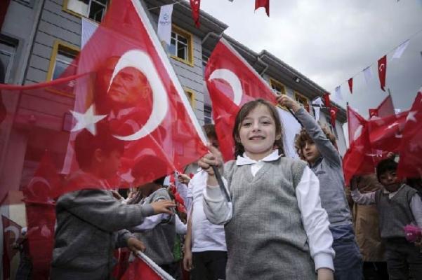 Necip Fazıl İlkokulu, Beykoz'da açıldı