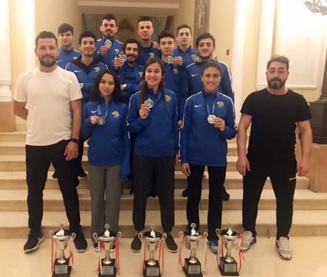 Tuzla Belediyesi Spor Kulübü, 3. Uluslar Arası Türkiye Açık Kick Boks Turnuvası'na damga vurdu