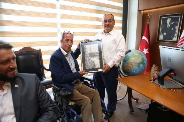 Başkan Hasan Can Kent Konseyi Engelliler Komisyonu'nu ağırladı