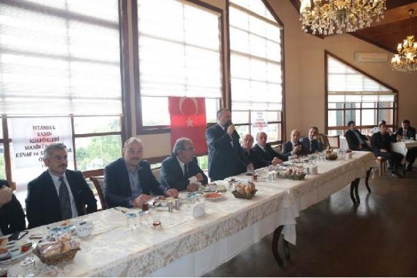 İstanbul Kadın Kuaförleri ve Manikürcüler Odası Mensupları ağırlandı