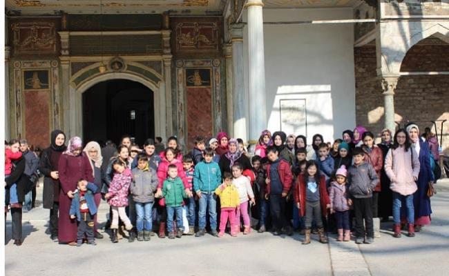 """Tuzla Belediyesi Anne Çocuk Eğitim Merkezleri, """"Bahar Gezileri"""" düzenledi"""