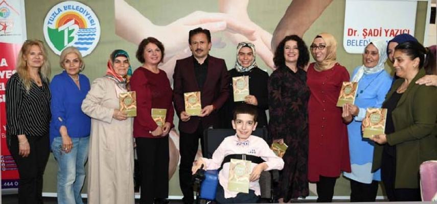 """Tuzla Belediyesi, """"Gönül Elleri Öyküleri"""" kitabını yayınladı"""