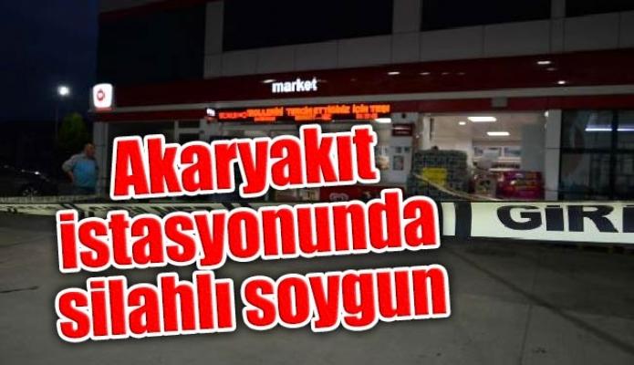 Tuzla'da akaryakıt istasyonunda silahlı soygun