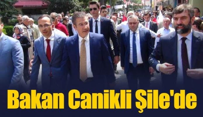 Bakan Canikli Şile'de