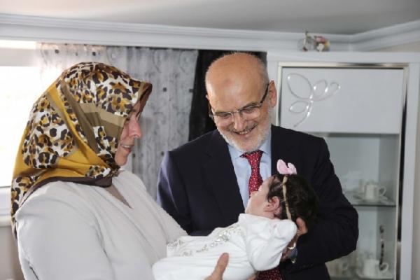 """Beykoz'da """"Hoş Geldin Bebek"""" ziyaretleri başladı"""