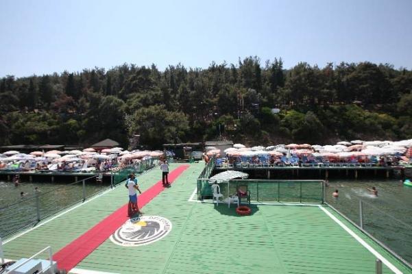Kartal Belediyesi Büyükada Sosyal Tesisleri Halk Plajı Açıldı