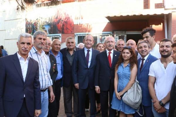 Kılıçdaroğlu İle Başkan Altınok Öz, Şehit Ve Gazileri Unutmadı