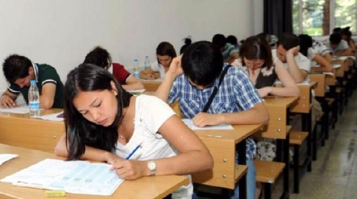 Öğrencilerin sınav heyecanı