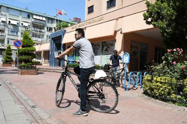 Personelin yeni ulaşım aracı bisiklet oldu