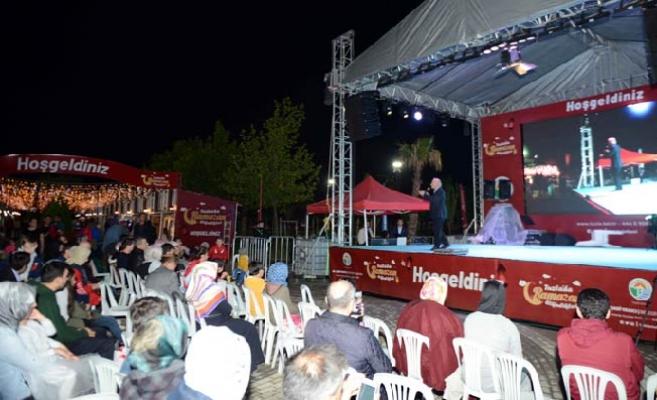 Tuzla'da Ramazan etkinlikleri, Şelale Eğitim Parkı'nda devam ediyor