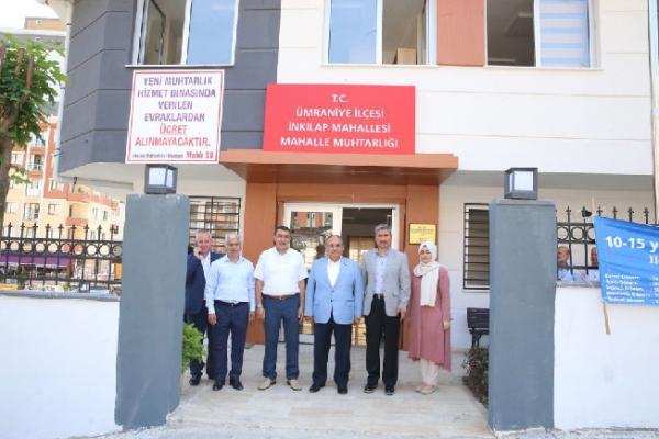 Başkan Can Muhtar Mahir Su'ya taziye ziyaretinde bulundu