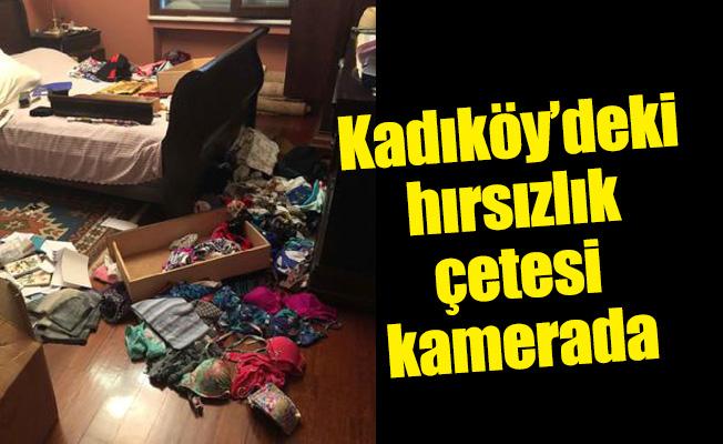 Kadıköy'deki hırsızlık çetesi kamerada