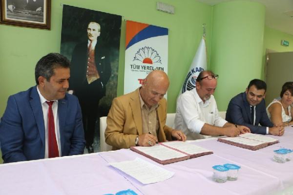 Kartal'da Toplu İş Sözleşmesi İmzalandı