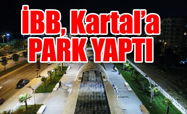 Kartal'da 'Sis Parkı' açıldı