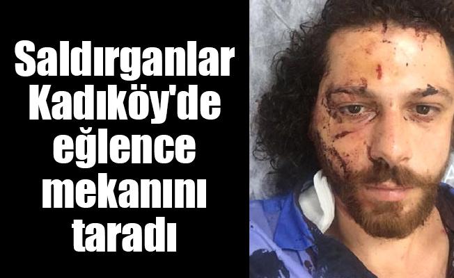 Saldırganlar Kadıköy'de eğlence mekanını taradı