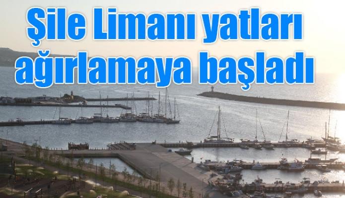 Şile Limanı yatları ağırlamaya başladı