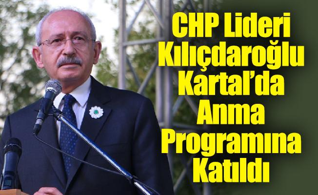 Srebrenitsa Anması, Kılıçdaroğlu'nun Katılımıyla Kartal'da Gerçekleşti