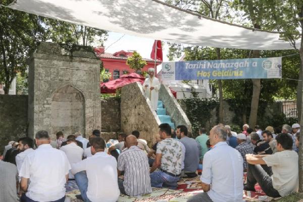 Tarihi namazgâh, ibadete açıldı