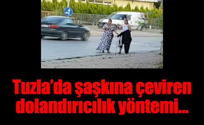 Tuzla'da şaşkına çeviren dolandırıcılık yöntemi…