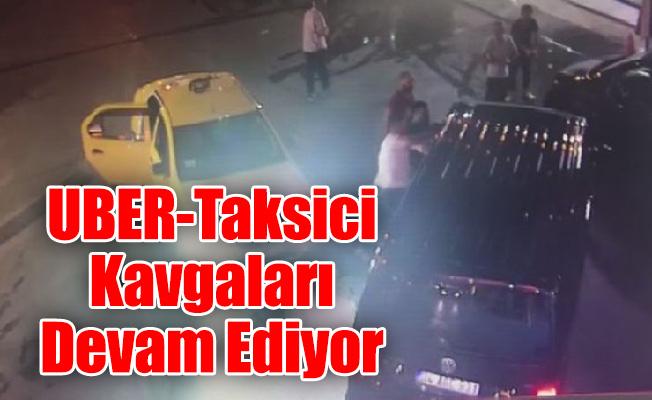 UBER sürücüsüne saldırı…