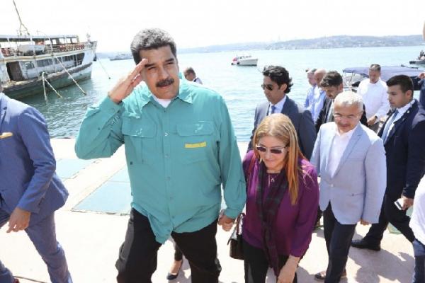 Venezuela Devlet Başkanı Nicolas Maduro Diriliş Ertuğrul setinde