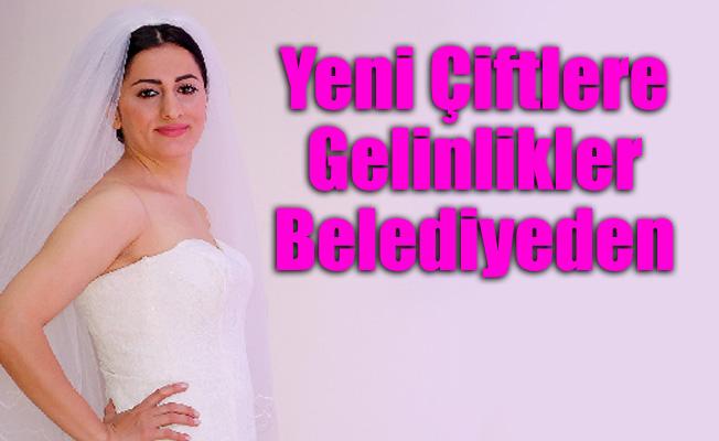 Yeni Çiftlere Gelinlikler Ataşehir Belediyesi'nden