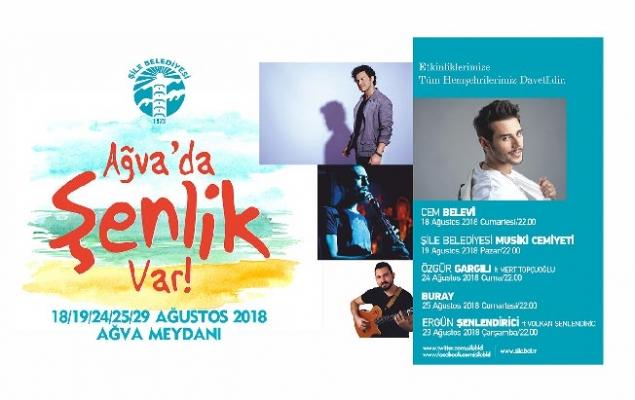 AĞVA'DA FESTİVAL ZAMANI