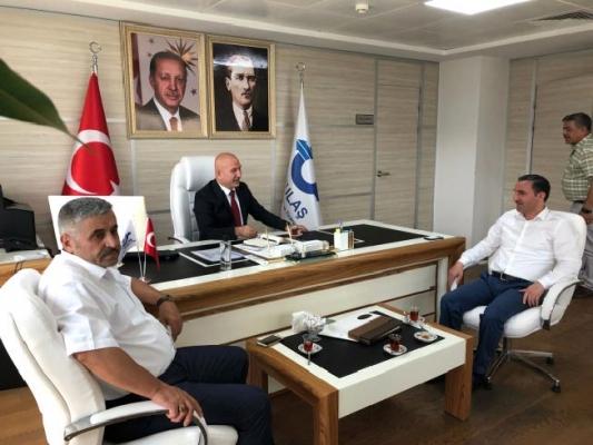 AK Parti Sultanbeyli İlçe Başkanı Ali Tombaş,Özulaş A.Ş. Başkanı Sedat Şahin ziyaret etti