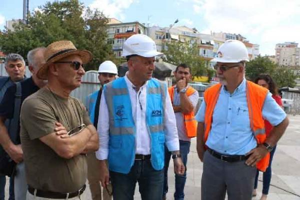 Altınok Öz Marmaray'da Devam Eden Çalışmaları İnceledi