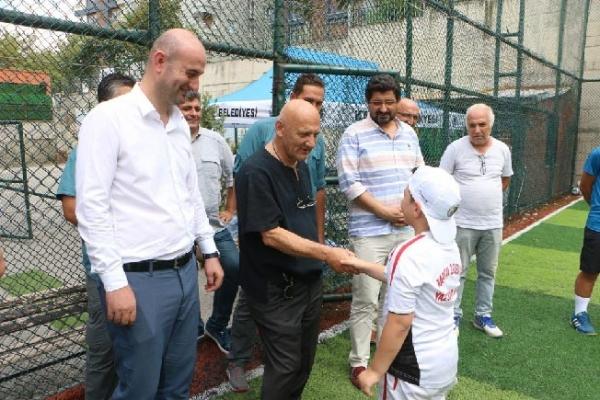 Altınok Öz Spor Yaz Okulu'nu Ziyaret Etti