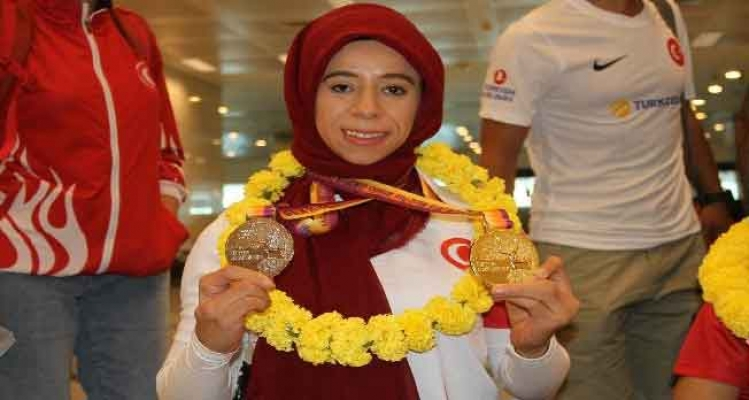 Avrupa şampiyonu engelli sporcular yurda döndü