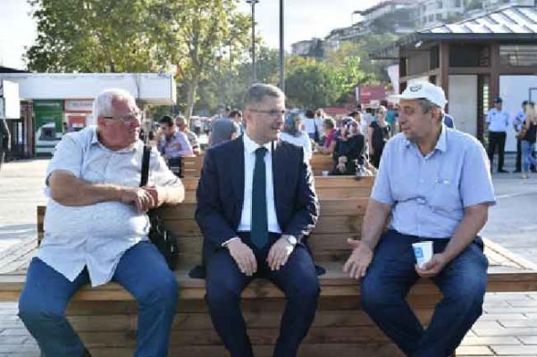 Başkan Hilmi Türkmen'den Sabah Sürprizi