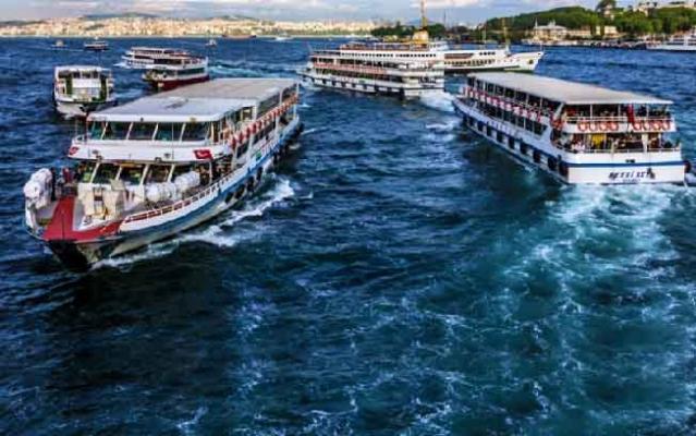 Bin öğrenci, Boğaz ve Adalar turu yaptı
