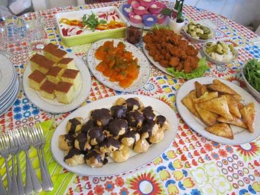 Bulgurlu Dostluk Parkı'nda Akşam Çayı