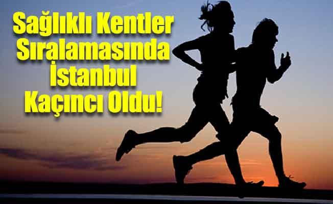 İstanbul Sağlıklı Kentler Sıralamasında Sondan İkinci Oldu