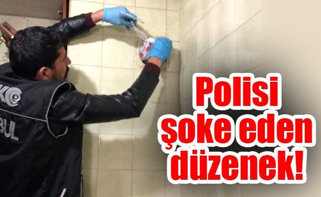 Polisi şoke eden düzenek!