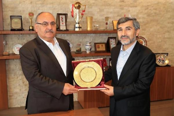 Ümraniye İlçe yeni Müftüsü Muharrem Gül'den Başkan Hasan Can'a ziyaret