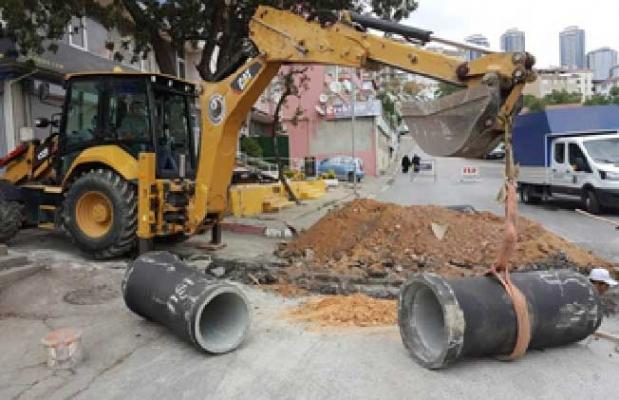 Başkomutan Caddesi'nin alt yapısı tamamen yenileniyor