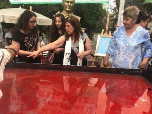 Beykoz Ebru Günü kutlandı