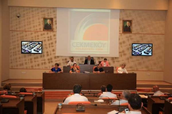Çekmeköy Belediyesi Eylül Meclisi Tamamlandı