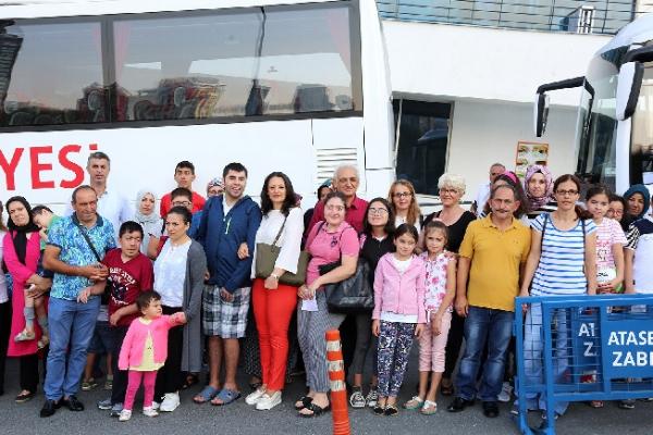 Engelli Çocukların Tatil Heyecanı Başladı