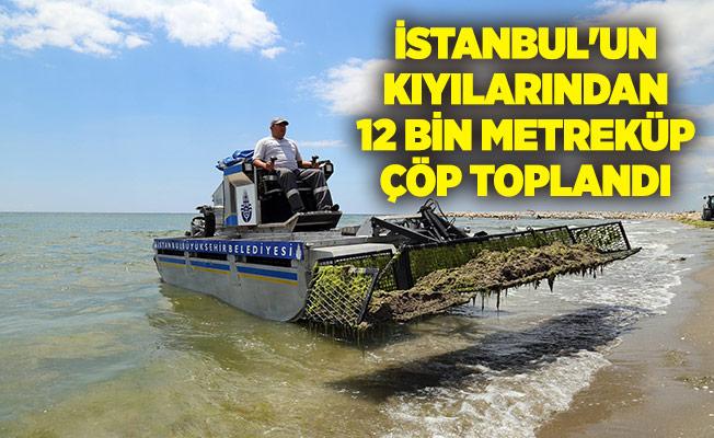 İSTANBUL'UN KIYILARINDAN 12 BİN METREKÜP ÇÖP TOPLANDI