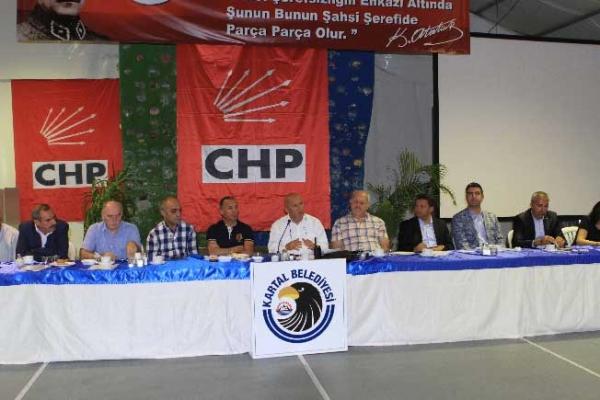 Mahalle Birim Başkanları Kartal'da Toplandı